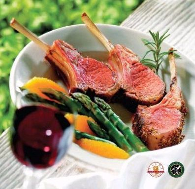French Cut New Zealand Lamb Racks - all-natural, tender, and delicious
