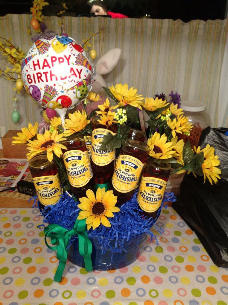 Shannon's twisted tea bouquet!