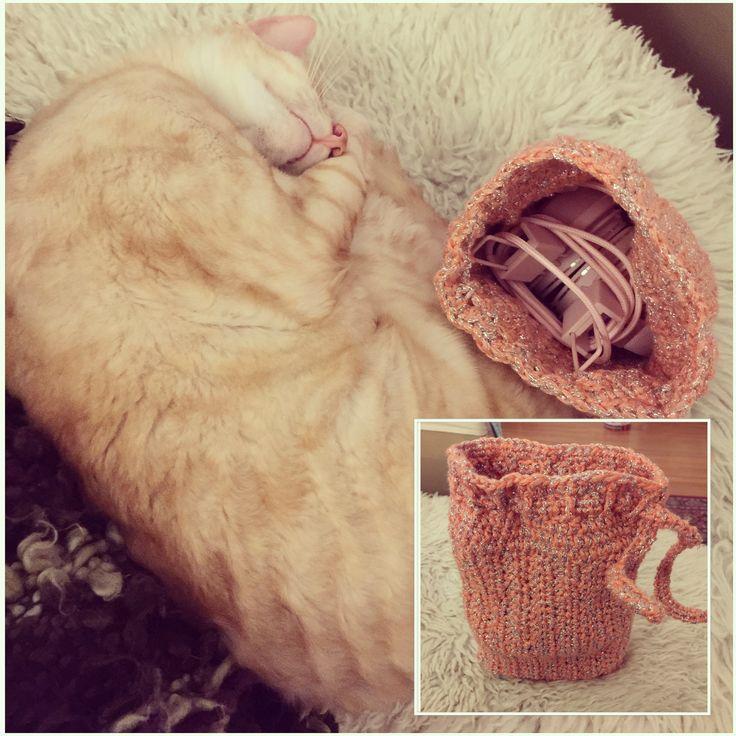Crochet, bag, storage