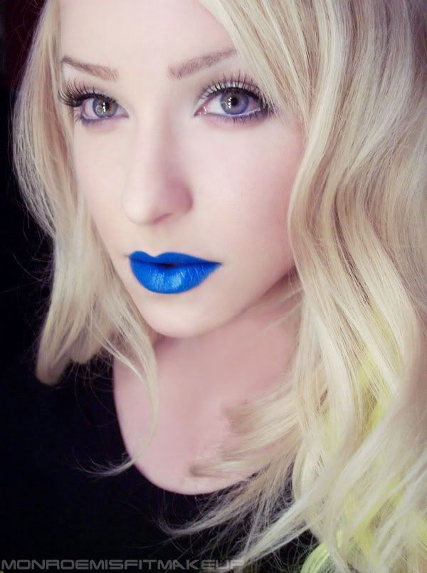 Your lips will be 'singing the blues' with OCC lip tar in RX #crcmakeup