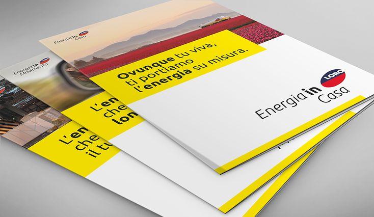 CLIENTE LORO F.lli S.p.A. Brochure di presentazione dei servizi offerti: trasporto, casa e lavoro. Energia e carburante per soddisfare ogni vostra esigenza! #dart #brochure #servizi #adv #comunicazione #impresa #grafica #design