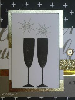 The Inky Scrapper: November Stamp of the Month Blog Hop: New Year's Cheer