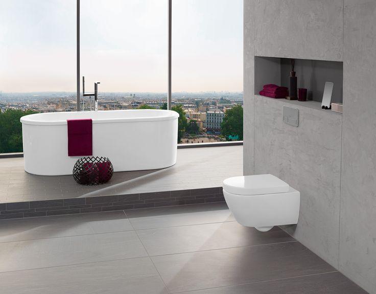 Inodoro con Viseat #Villeroyboch #Villeroyboches #innovación #inodoros #lavabos #bañeras #platosdeducha #tendencia #Premium #viclean #washlet #inorodo-bide #inspiración #diseño #lujo #estilo #bath