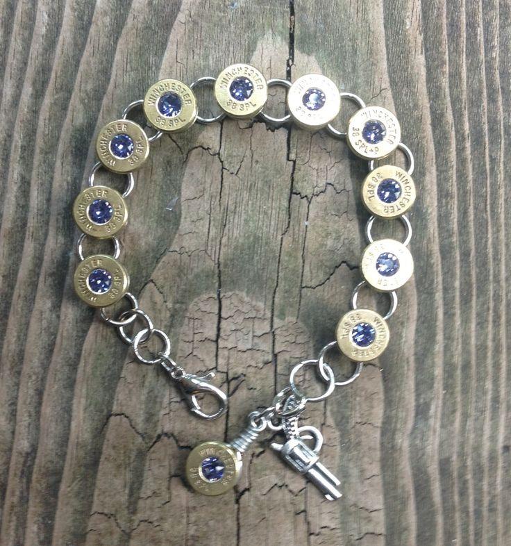Winchester 38 Special Bullet Bracelet