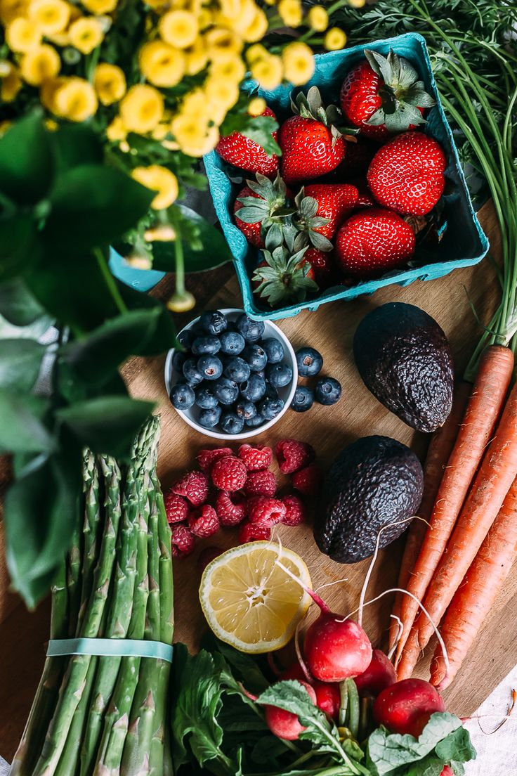 This farmer's market catch holds plenty of possibilities for fresh fruited #smoothies ... - via @faringwellblog