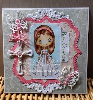 Blankina creations: Inky Chicks challenge DT post