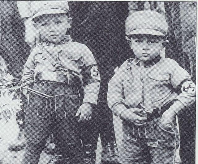 German boys in SA Uniforms (1943)