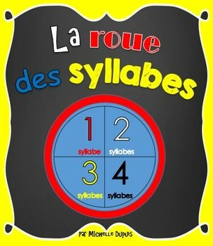 roue des syllabes 1 syllabe 2 syllabes 3 syllabes et 4 syllabes chang 39 e 3. Black Bedroom Furniture Sets. Home Design Ideas