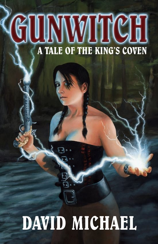 In 1718, in an England that might have been, the law found Rosalind Bainbridge guilty of witchcraft. In lieu of execution, she became Private Bainbridge of the 101st Pistoleers, a Gunwitch of the King's Coven. 24 years later, dishonorably discharged and working as a scout on the Amerigon frontier, Rose's past comes looking for her. A summons and a request from the officer who saved her from the hangman's noose. And a meeting with the Misses Janett and Margaret Laxton . . .