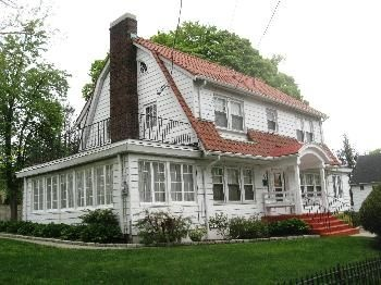 21 best images about dutch colonial homes on pinterest for Center hall colonial house plans