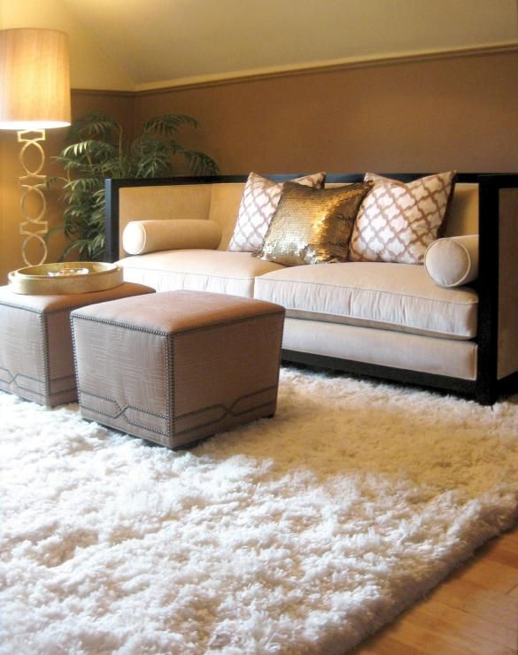25 best ideas about fluffy rug on white