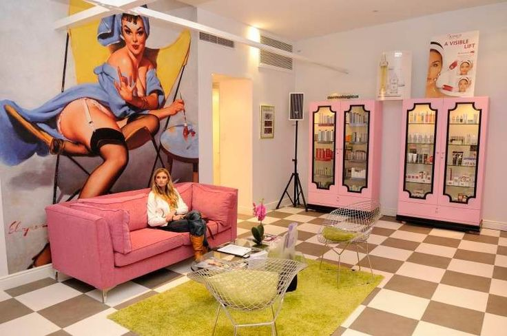 Love this especially the retail cupboards,,, maybe not much the large picture. Wall paper would be nicer
