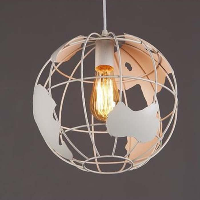World Map Globe Pendant Light Earth Lamp Simply Beautiful And