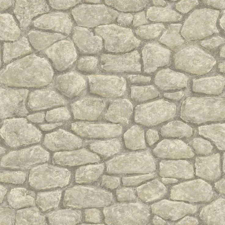 "Borders by Chesapeake 33' x 20.5"" Camelot Faux Stone 3D Embossed Wallpaper"