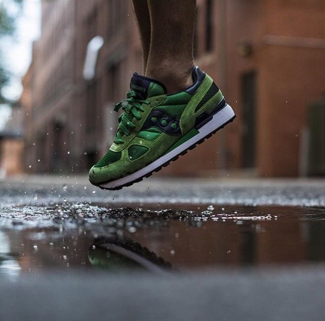 "Saucony Shadow Original ""Green/blue"""