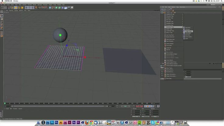 This is about interaction between cloth and rigid Bodies - which basically doesn´t work. So I show you an alternative. Sorry for sound quality - if you put…
