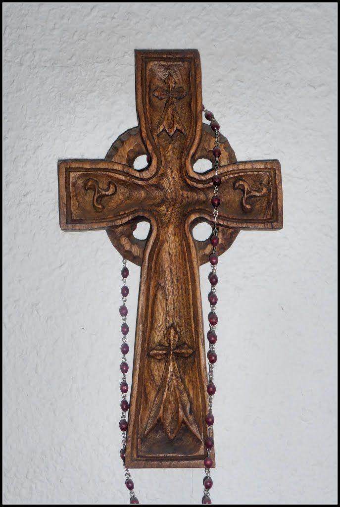 Quimper, crocifisso brettone, Bretagna, 1992
