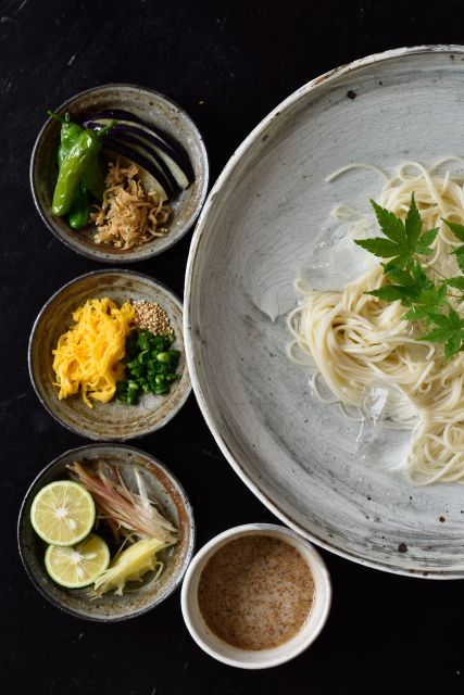 Japanese Somen Noodles そうめん