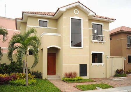 Color de pintura para exterior de casa 2015 buscar con - Pintura fachada exterior ...