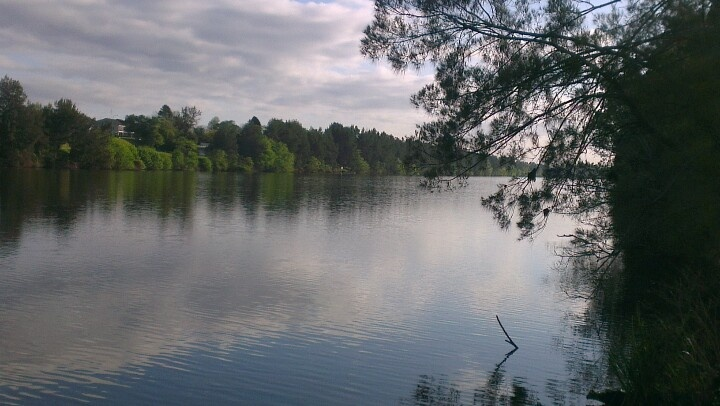 Nepean River, Penrith NSW Australia. A beautiful place to walk, think and just be.