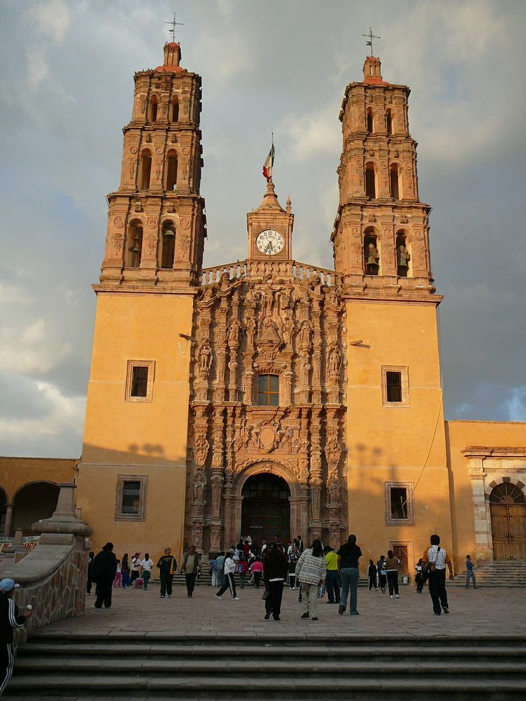 """Church in Dolores Hidalgo, Guanajuato 