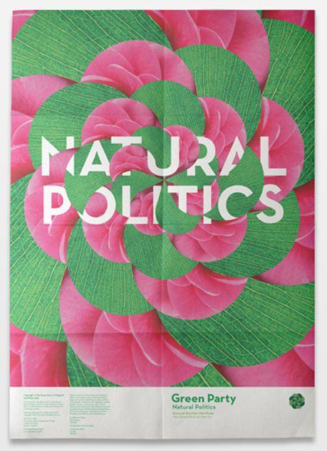designersof:  Green Party manifesto. By Joel...