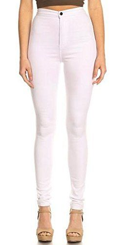 New Trending Denim: Monotiques Womens High Waist Stretchy Skinny Jeans, White, 9. Monotiques Women's High Waist Stretchy Skinny Jeans, White, 9  Special Offer: $31.99  355 Reviews Monotiques, basedin theHeart of Downtown Los Angeles, is a boutique shop that provide women's must-have trendy and modern style items, specialized in clothes and jeans.With...