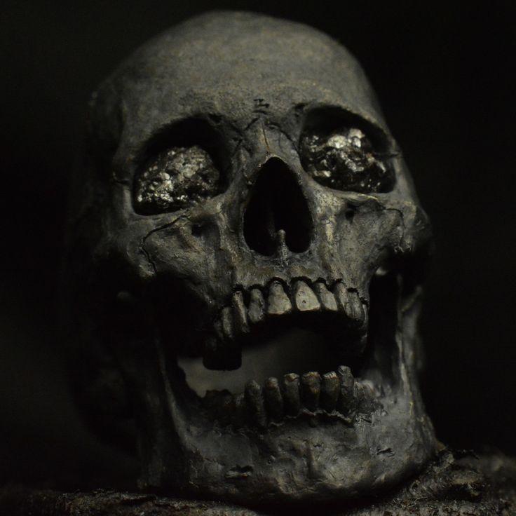 Картинка черепа страшные