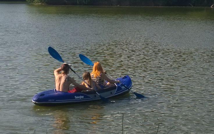 Drifting down Jizera river