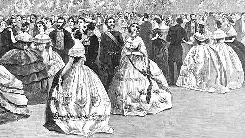 19th Century Etiquette of Dancing, Ballroom; this website is a historical fiction writers research blog - very interesting