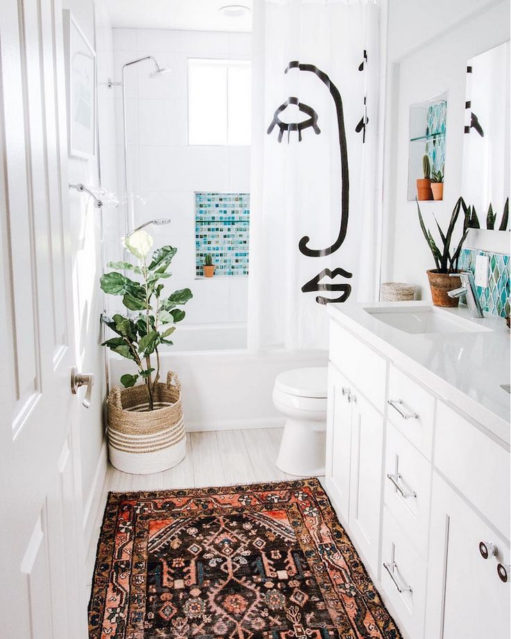 11 Unique Shower Curtain Ideas for Every Bathroom - Natalya Caraballo