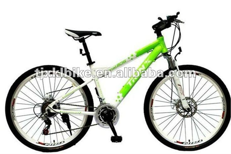26 mountain bike with Disc Brake1.Alloy frame2.Aluminum rim3.F R Disc Brake4.ShimanoF/R DERAILLEUR Please follow us @ https://www.pinterest.com/wocycling/