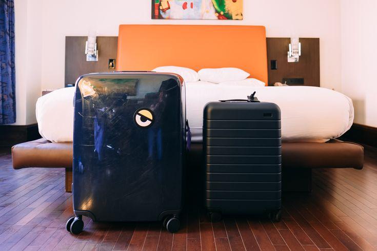 Raden vs Away smart luggage