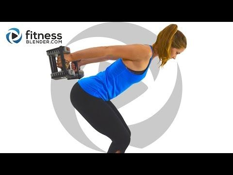 10/4/16 Fun Upper Body Workout for Great Arms & Shoulders (Bored Easily) | Fitness Blender