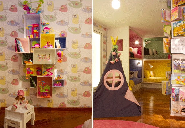 Quarto da bagunça - Arquiteta Camila Rosa - Casa Cor 2013