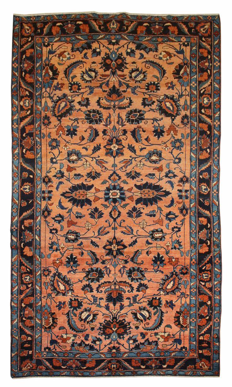 Cod. 8713 Lilian antico 352x188 tappeto persiano antique rug
