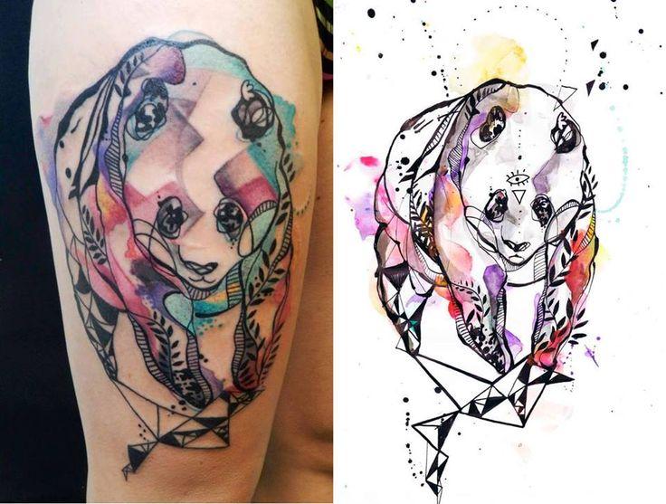 tattoo Aquarelle Style Tatoo Pinterest And