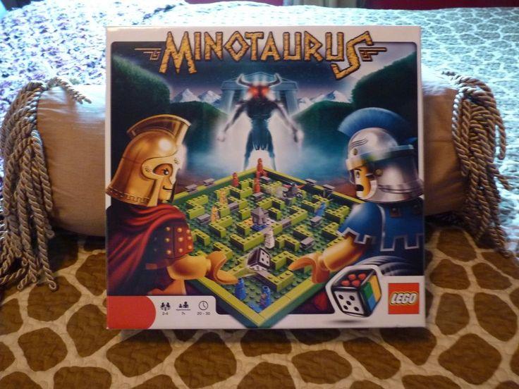 LEGO MINOTAURUS GAME COMPLETE 2-4 PLAYERS 7+ UP fun game EU  #LEGO