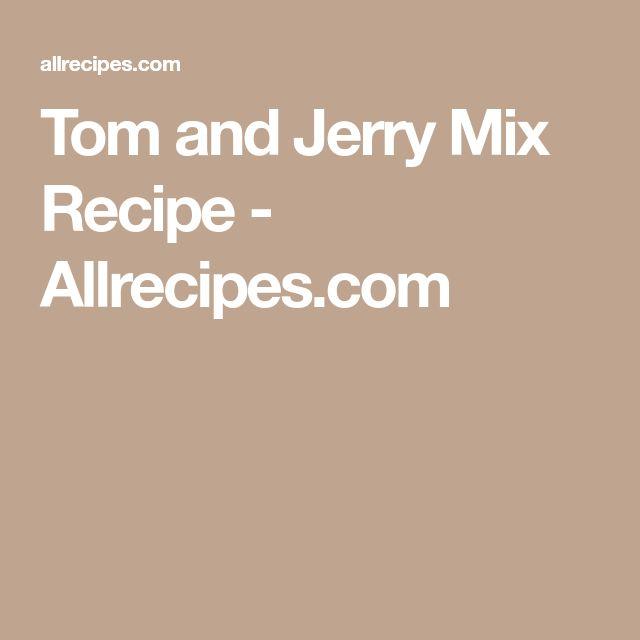 Tom and Jerry Mix Recipe - Allrecipes.com