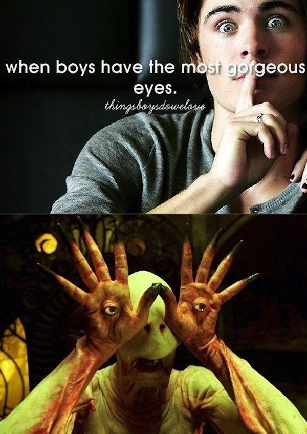 When boys have the most gorgeous eyes... | 22 Things Boys Do That Girls Shouldn't Love