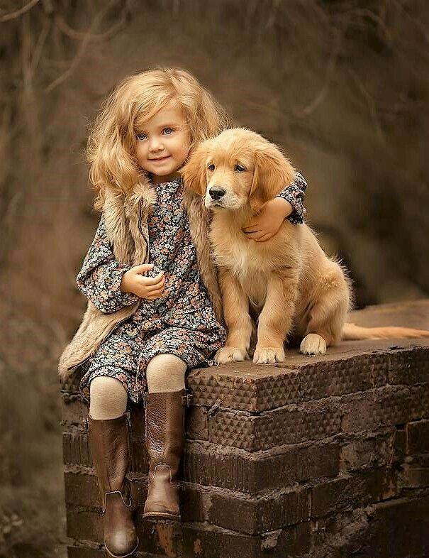 Pin By Riya Saxena On Deti Dogs And Kids Cute Animals Cute Kids Dog love wallpaper hd download