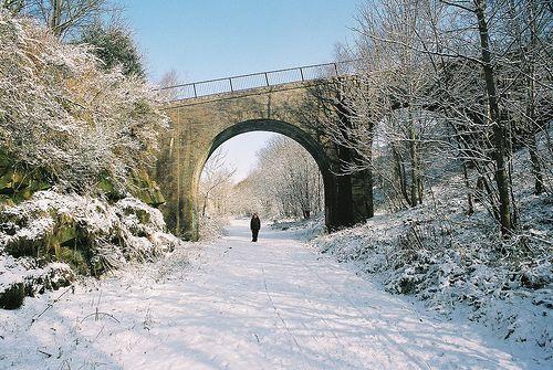 Winter on the old line - Saddleworth, Oldham, UK   Flickr - Photo Sharing!
