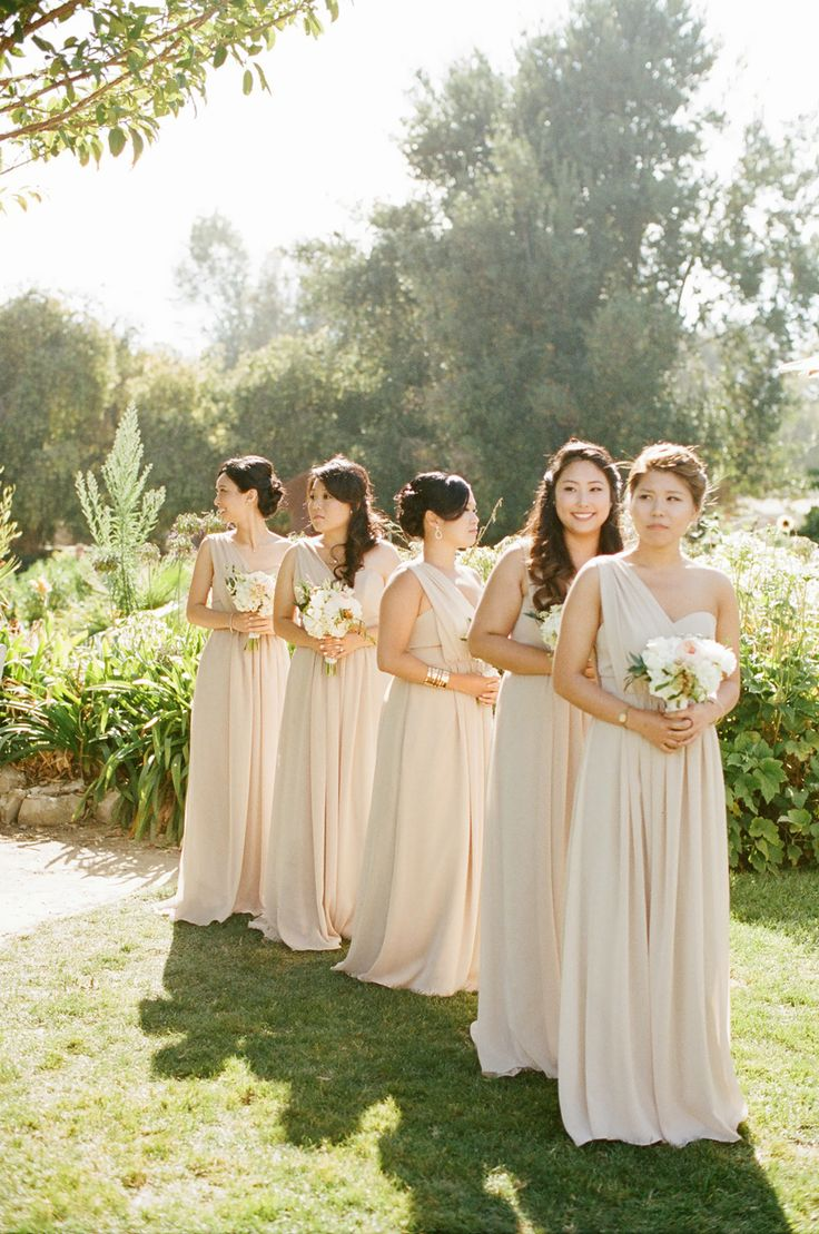 champagne bridesmaid dresses. Black Bedroom Furniture Sets. Home Design Ideas