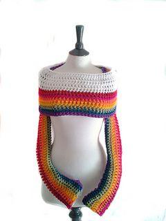 Sleeve Scarf: FREE crochet pattern