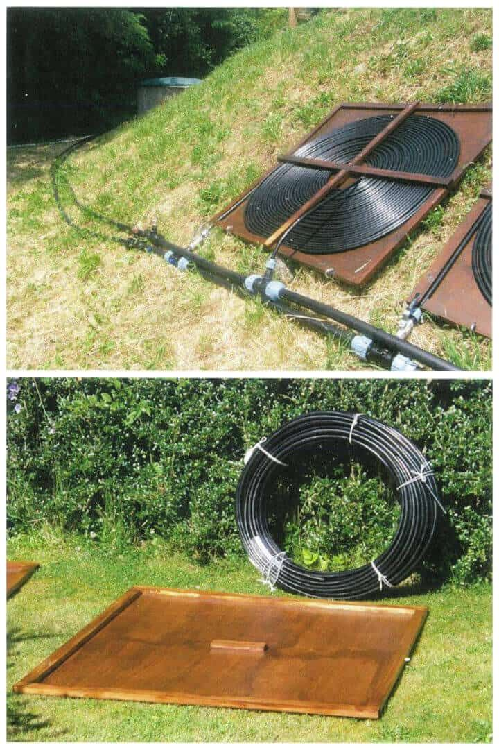 how to heat a pool fast diy