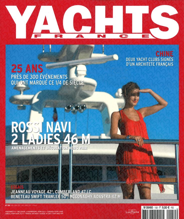 Coverage on the Pearl Yacht in the May issue of Yachts France