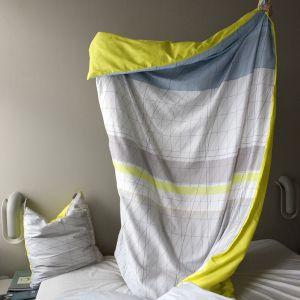 [おしゃれリネン/ベット布団カバー] HAY(ヘイ) / Bed linen ベッドリネン 布団カバー&ピローケースセット Colour Block イエロー :: こんな生活。~北欧インテリアブログ~|yaplog!(ヤプログ!)byGMO