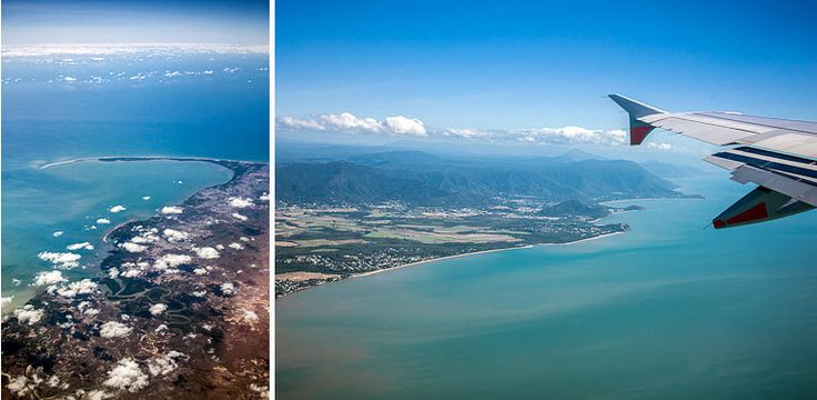 LOVE THIS PHOTO - From the plane coming into Cairns - Hilary Cam Photography