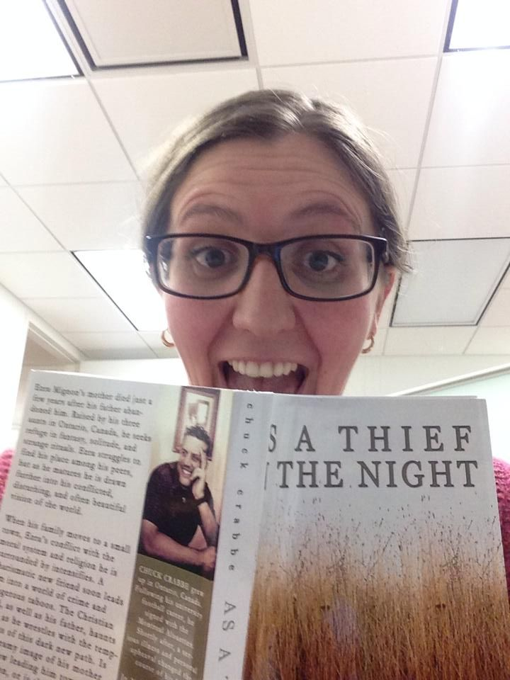 AS A THIEF IN THE NIGHT by Chuck Crabbe discovered in in Halifax, NovaScotia, Canada!