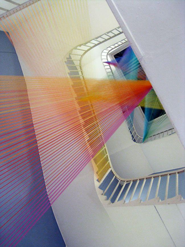 Best 25+ String installation ideas on Pinterest | Art ...